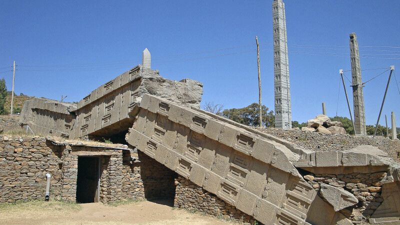 Stelenpark in Axum © Diamir