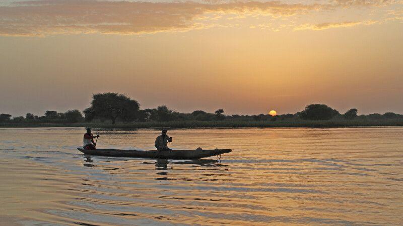 Au dem Senegalfluss © Diamir