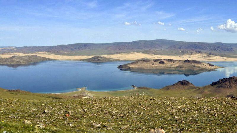 Bajan Nuur See © Diamir