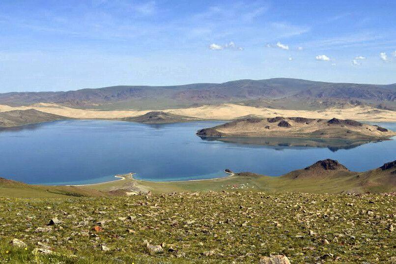 Bajan Nuur See