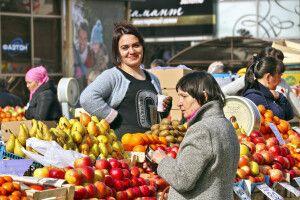 Markt in Irkutsk