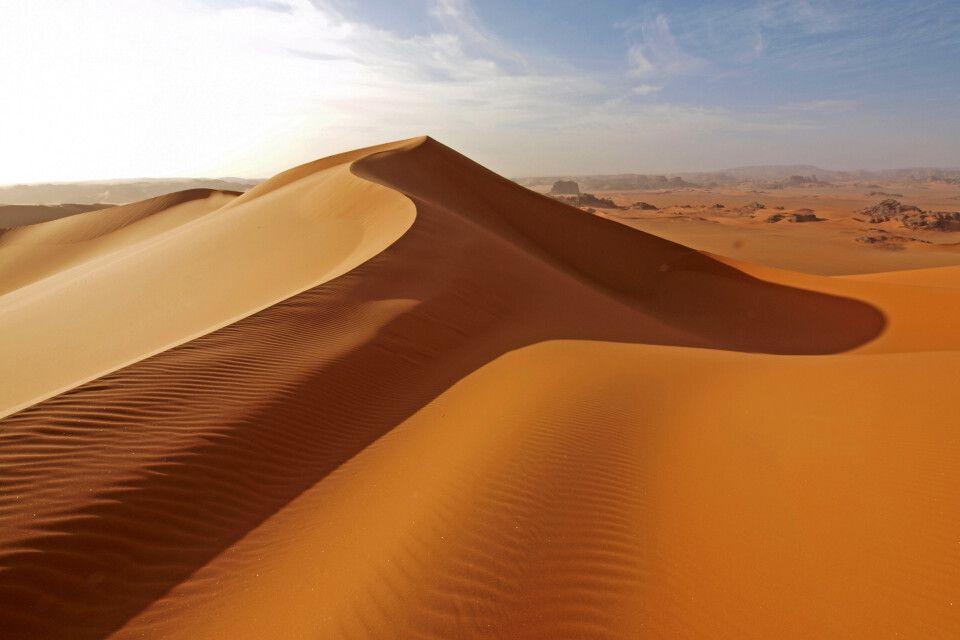 Sanddünen im Tadrart