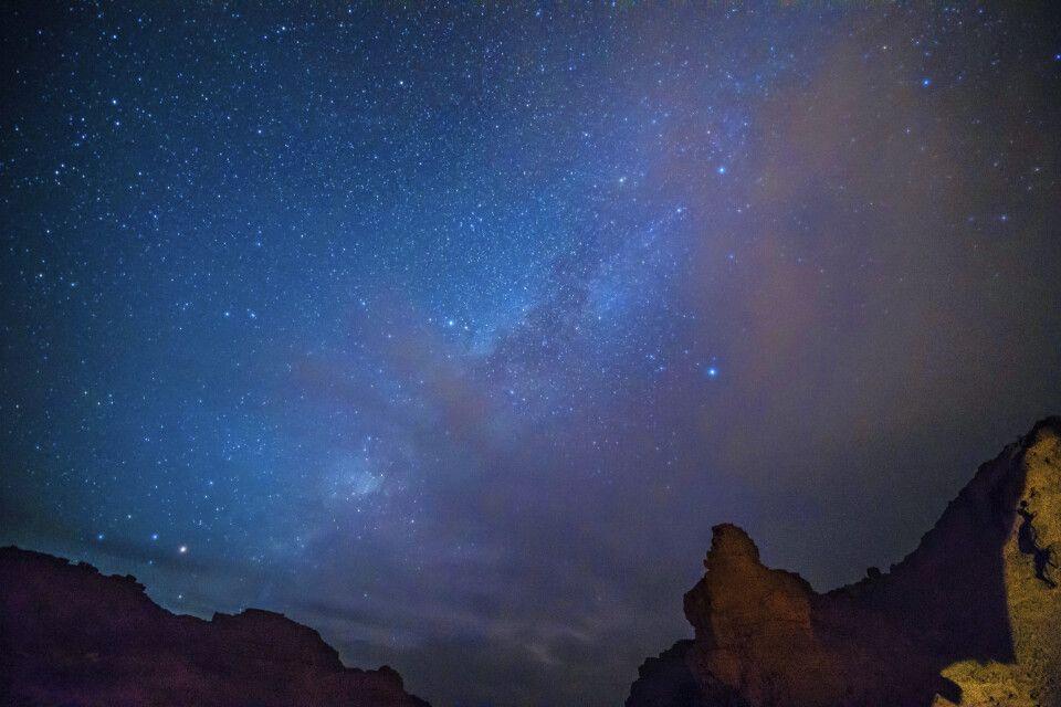 …..unterm Sternenzelt in der Sahara
