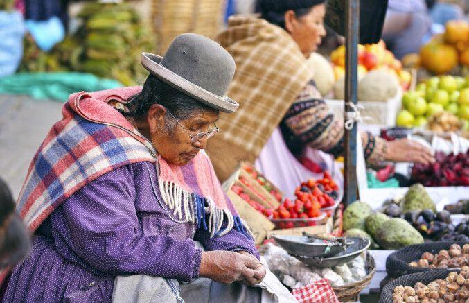 Marktimpressionen von La Paz