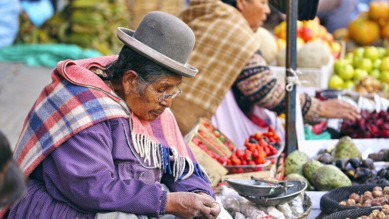 Marktimpressionen von La Paz © Diamir