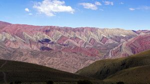 Der Berg der 14 Farben bei Humahuaca