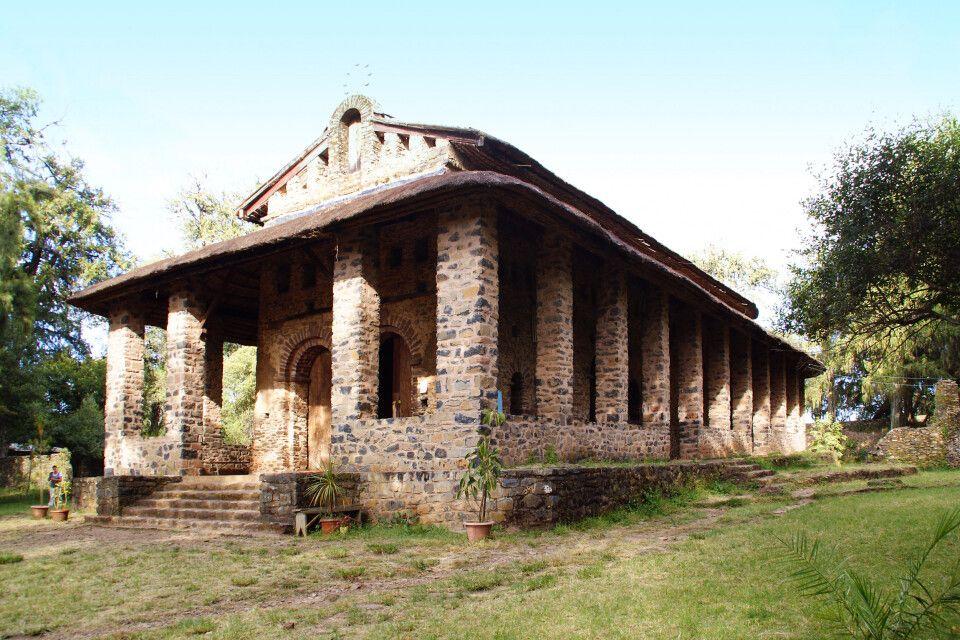 Debre Selassie Kirche in Gondar