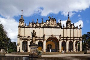 Holy Trinity Kathadrale in Addis Abeba