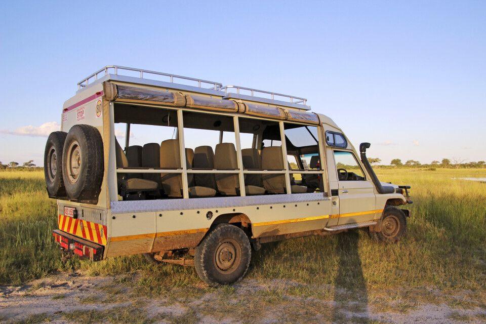 Unterwegs auf Safari