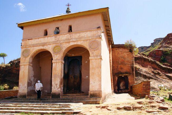 Felsenkirche in der Tigray Region