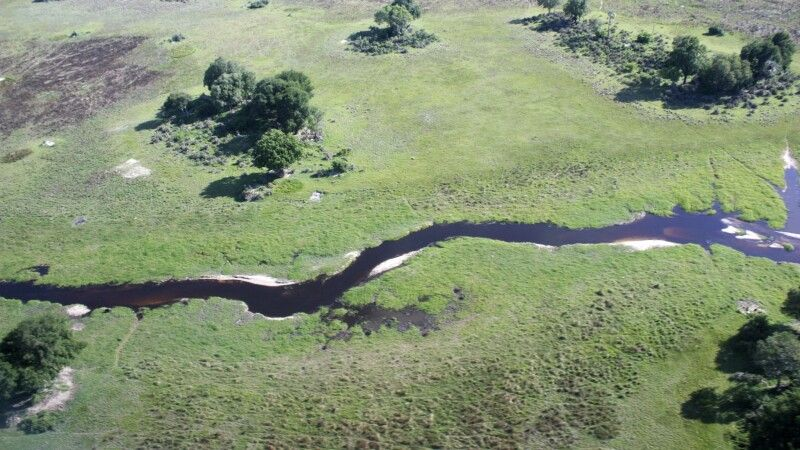 Fly In im Okavango-Delta © Diamir