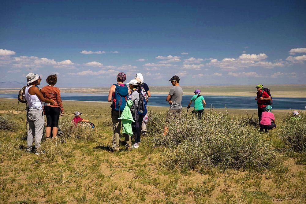 Steppe und See