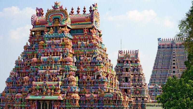 Sri Ranganatha Tempel in Trichy © Diamir