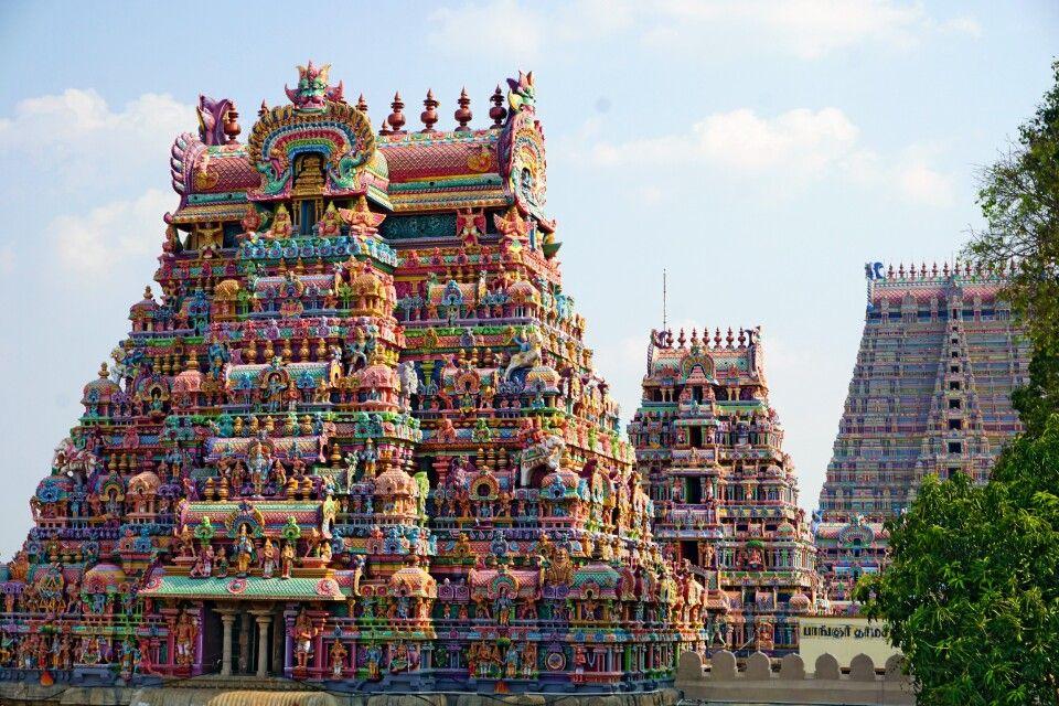 Sri Ranganatha Tempel in Trichy