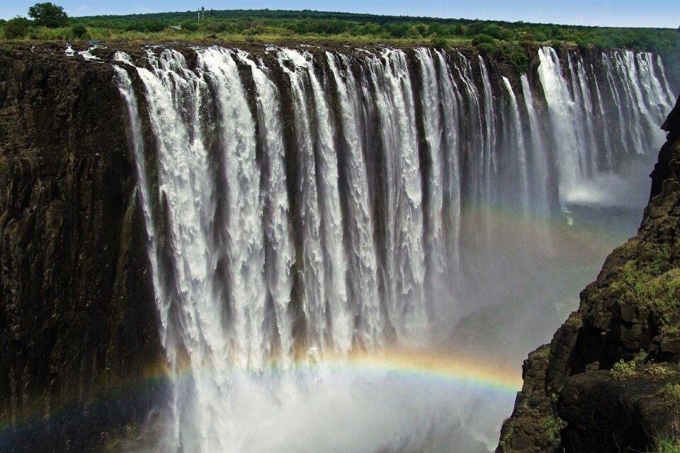 Victoriafälle in Simbabwe