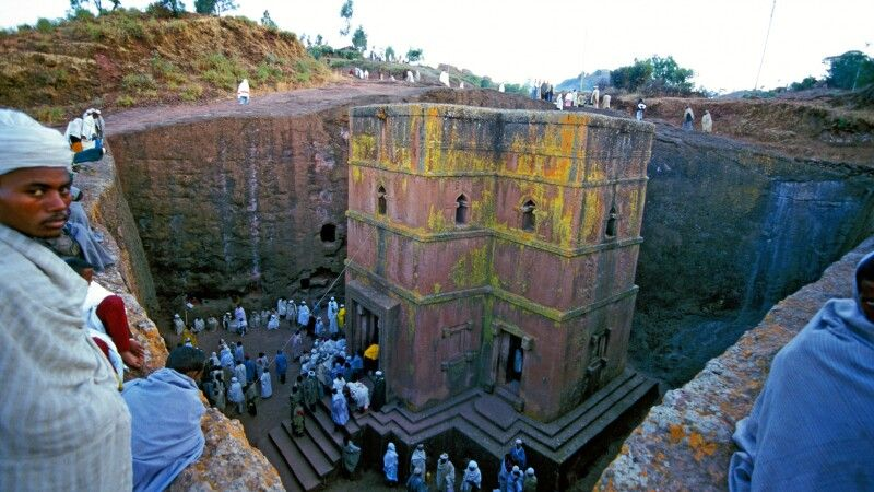 Beta Georgis in Lalibela © Diamir
