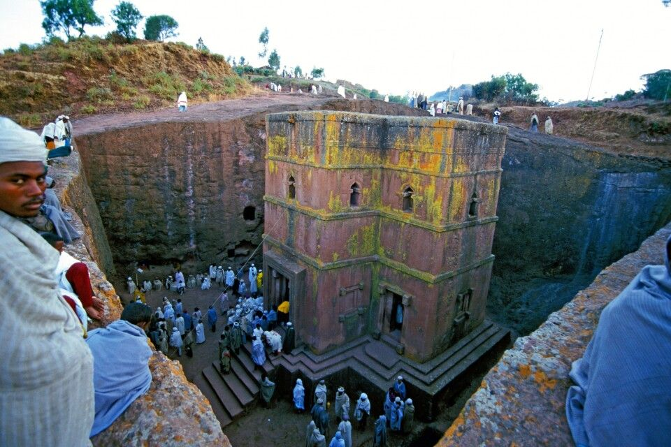Beta Georgis in Lalibela