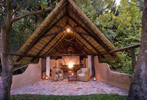Chaletbeispiel aus dem Nkwali Camp