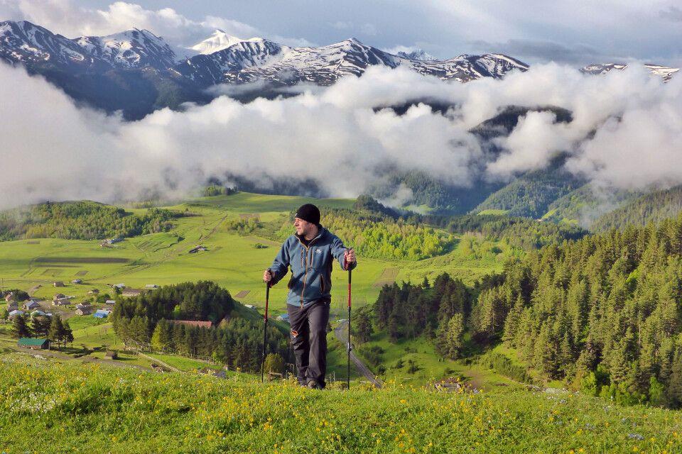 Trekking in Tuschetien