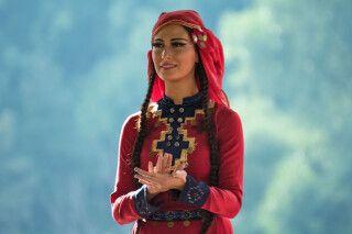 Georgische Tänzerin