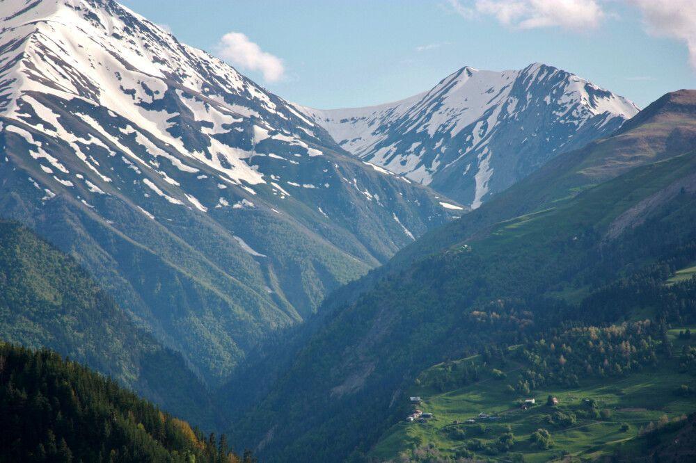 Bergdörfer in Tuschetien