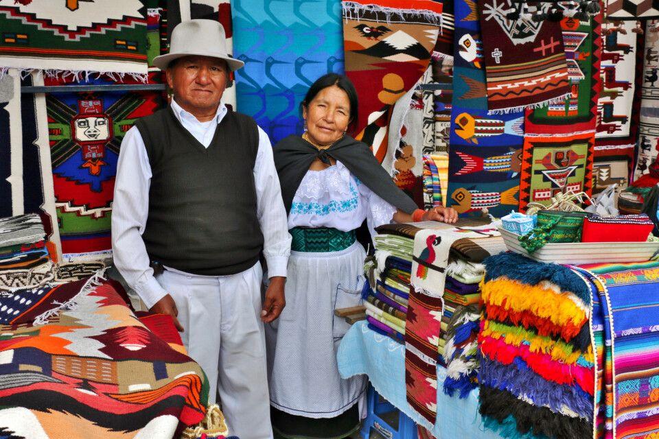 Markt in Otavalo