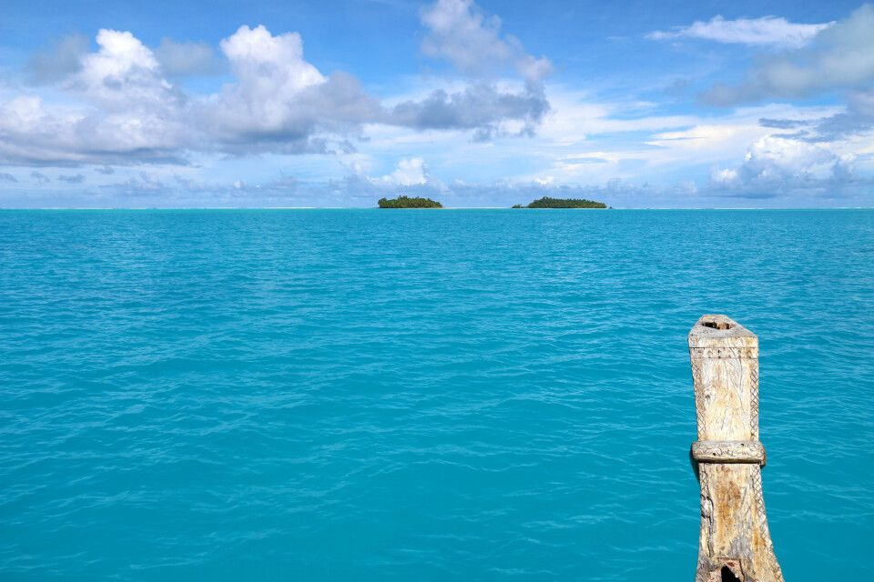 Bootsfahrt im Pazifik
