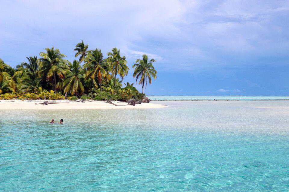Strand im Pazifik