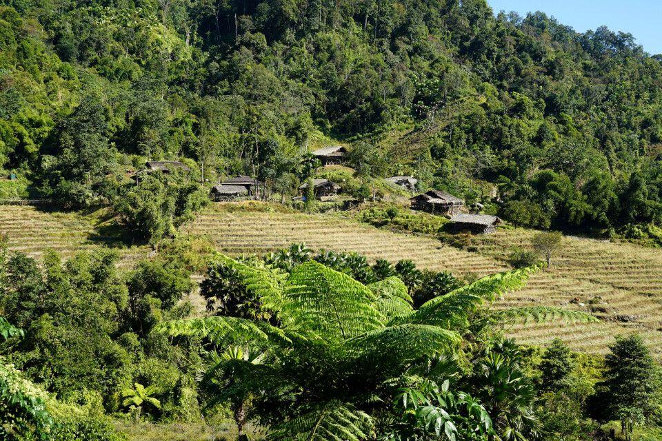 herrliche Landschaft in Arunachal Pradesh
