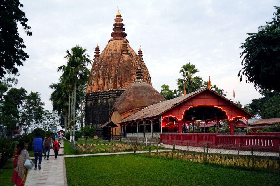 höchster Shiva-Tempel Indien in Sibsagar