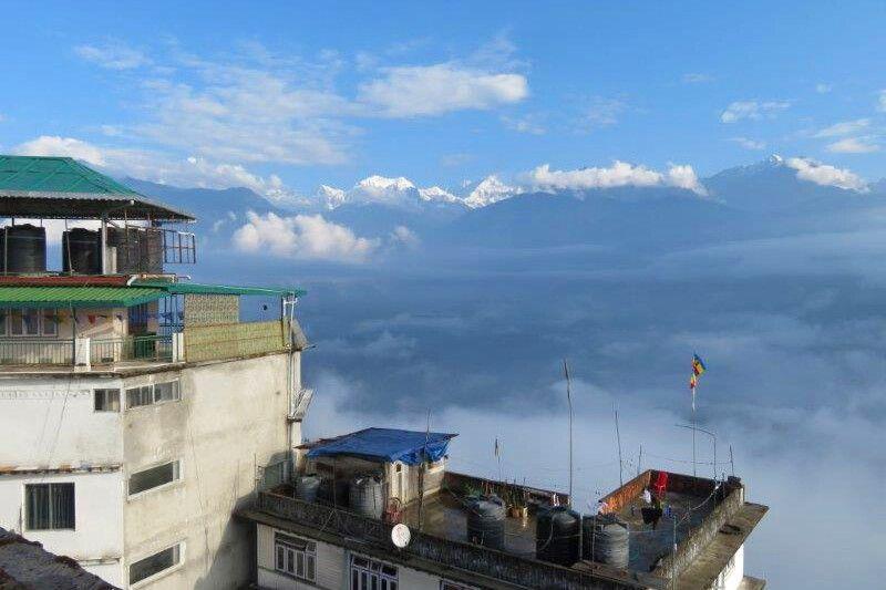 Blick auf den Himalaya
