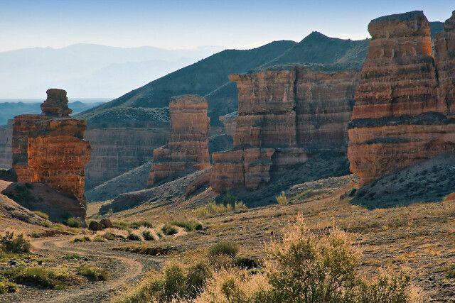 Canyon-Landschaft