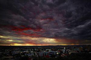 Himmel über Windhoek