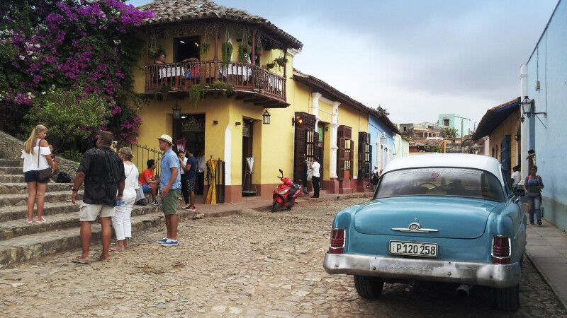 Straßenszene Trinidad © Diamir