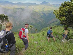 Wanderung im Malolotja-Naturschutzgebiet, Eswatini