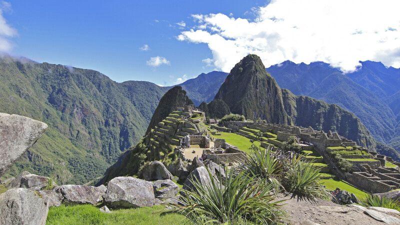 Blick auf Machu Picchu © Diamir