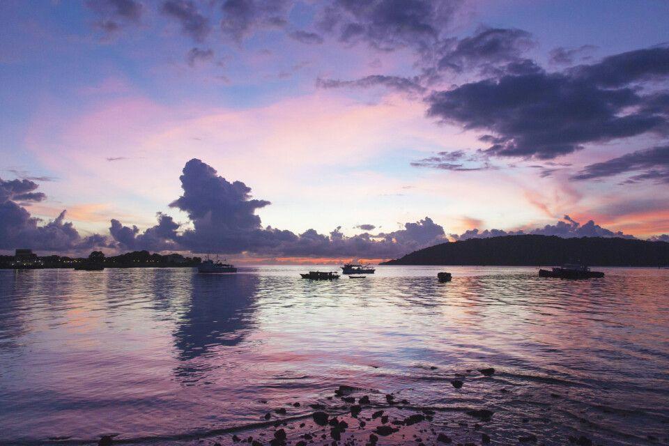 Malaysia – Borneo – Meer – Sonnenuntergang
