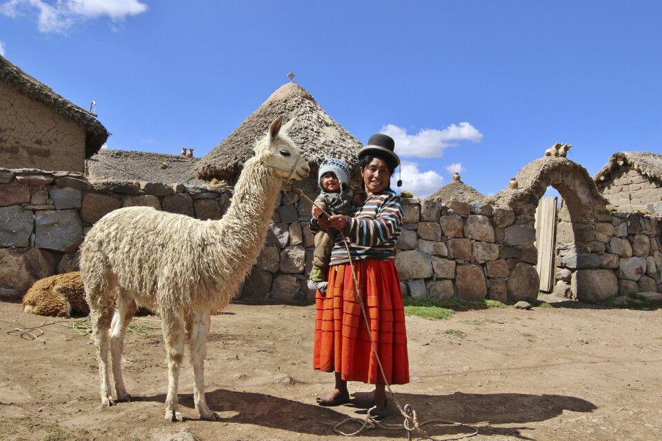 gelebte Tradition in den peruanischen Anden