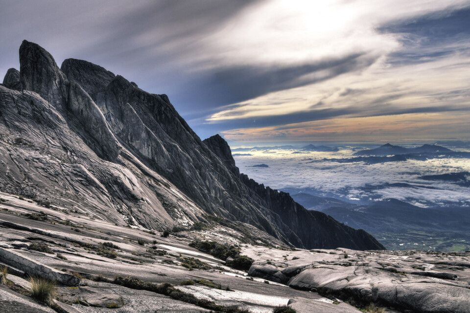 Blick vom Mt. Kinabalu