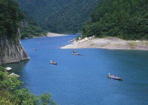 Bootsfahrt auf dem Kumano-Fluss