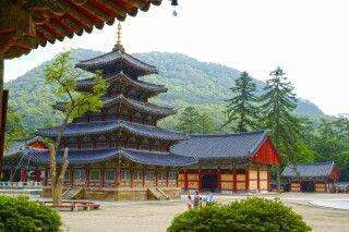 Beopjusa Tempel