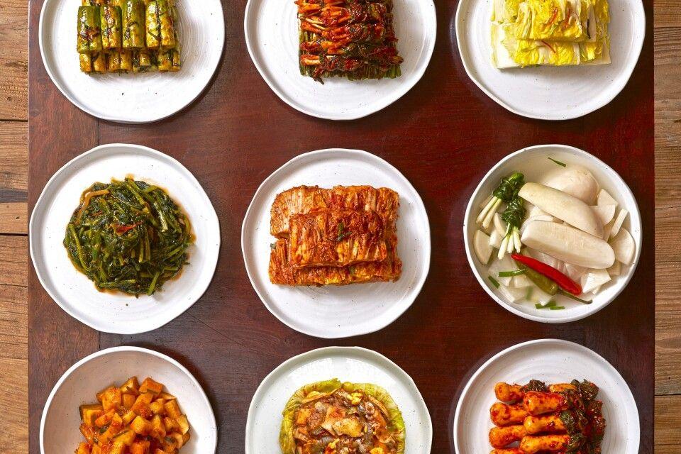 Kimchi-Variationen