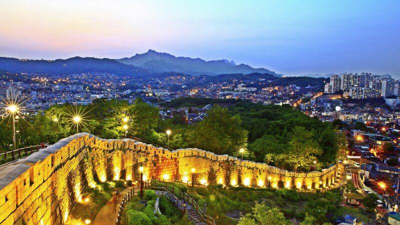 Alte Stadtmauer von Seoul © Diamir