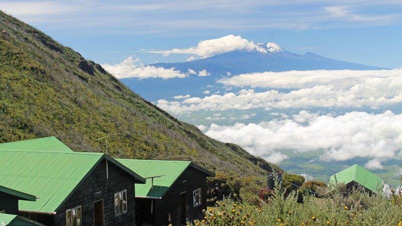 Saddle-Hütten am Mount Meru © Diamir