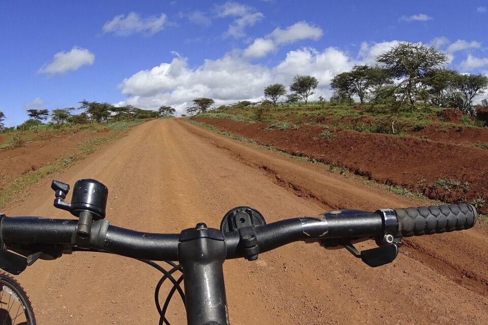 Fahrradtour zum Lake Eyasi