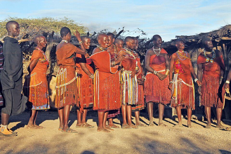 Frauen des Datoga-Stammes