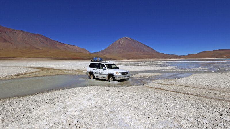 Per Allradfahrzeug durch das bolivianische Hochland © Diamir
