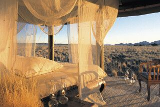 Premium Zimmer im Wolwedans Dune Camp