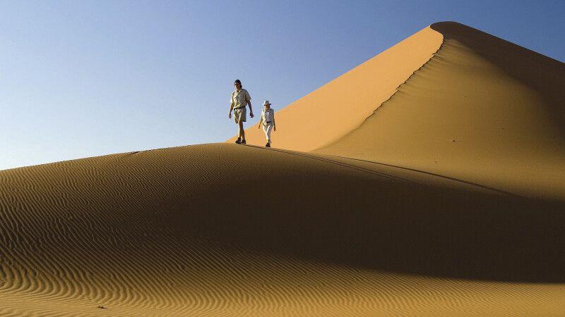 Wanderung entlang der Dünen des Sossusvleis © Diamir