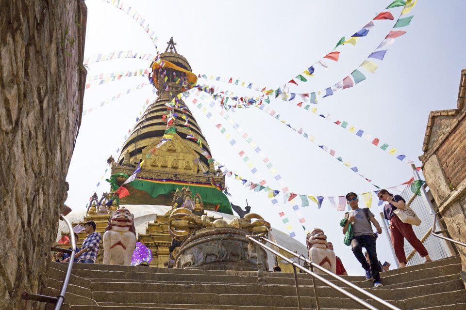 Tempelanlage Swayambhunath